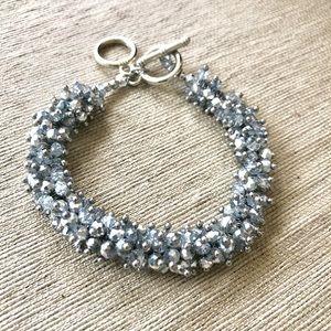 Jewelry - Sparkly Silver Bead Bracelet